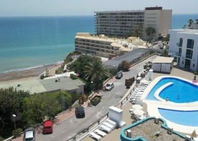 Pool och strand