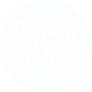 Logo Pop-in & Sing transparent