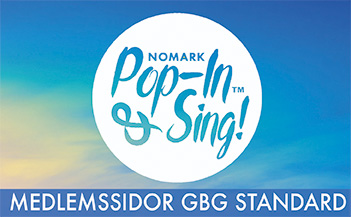 Vecka 2 Pop-in & Sing Standard Göteborg HT 2019