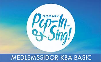 Vecka 2 Pop-in & Sing Basic Kungsbacka HT 2019