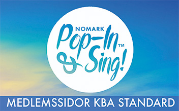 Vecka 12 Pop-in & Sing Standard Kungsbacka HT 2018